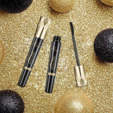 New Black 4d Silk Fiber Eyelash Mascara Waterproof