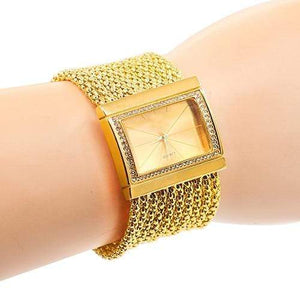 New Women Alloy Band Bracelet Wrist Watch
