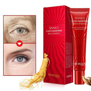Red Ginseng Snail Eye cream | Essence Instantly Ageless Anti Aging Anti Wrinkle Dark Circle Lift Firming Skin | eyl.store