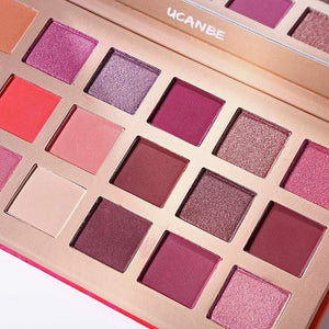 UCANBE Peach blossom 18 Color Eyeshadow Palette (pre-sale)