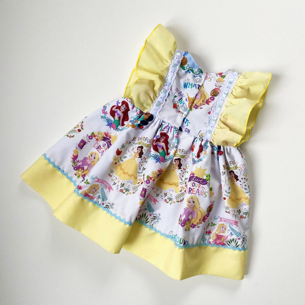 Kinder Boutique Yellow Princess Dress