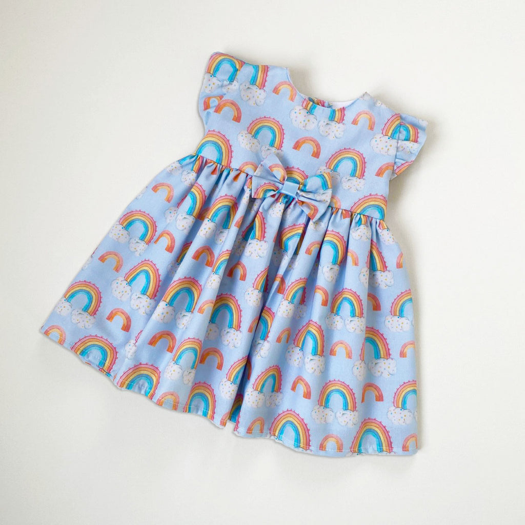 Kinder Boutique Rainbow Dress