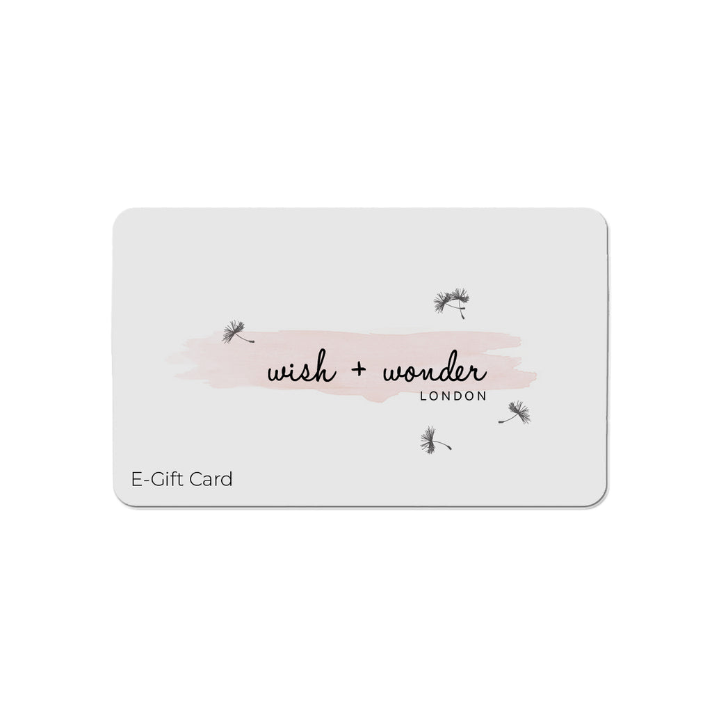 Wish & Wonder Gift Card