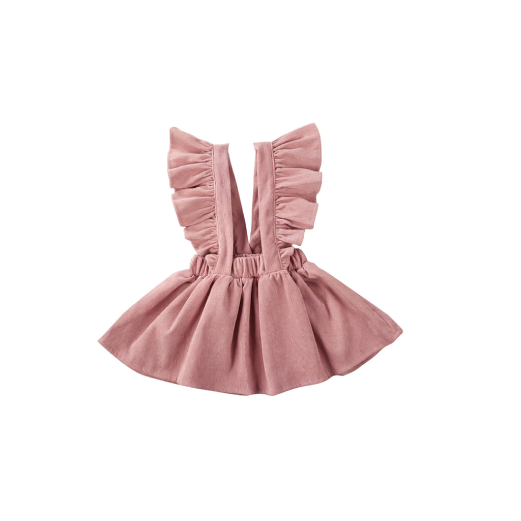 Ella Frill Pinafore Dress