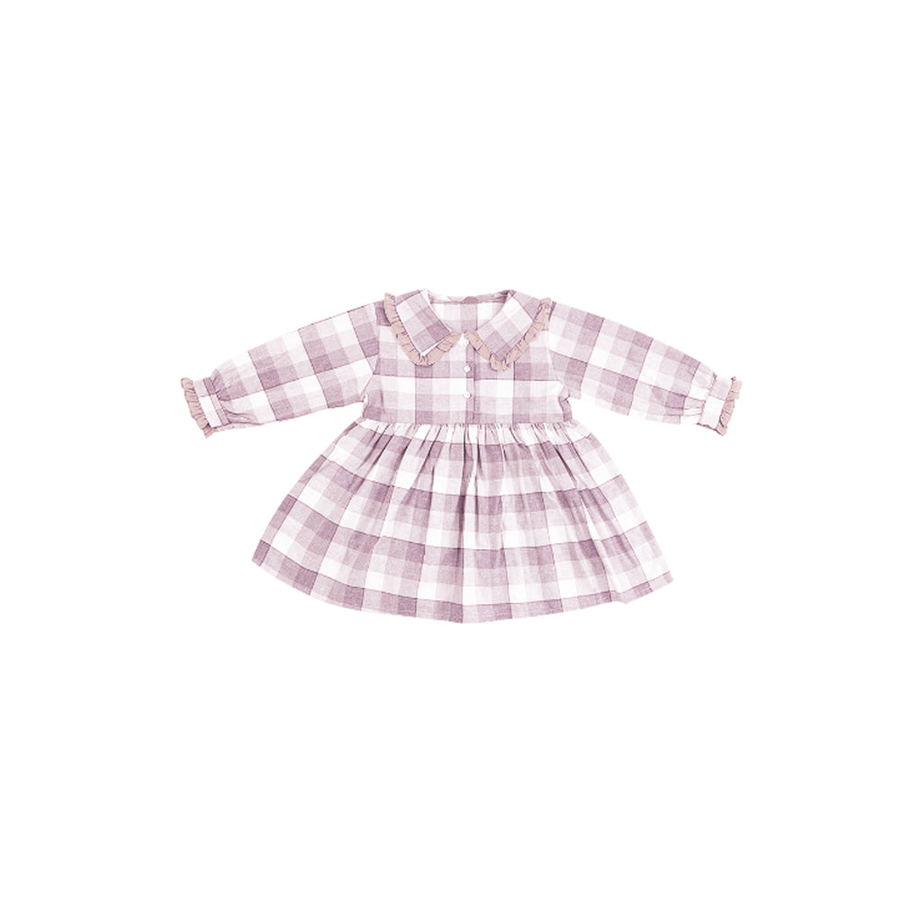 Josephine Farmhouse Check Dress