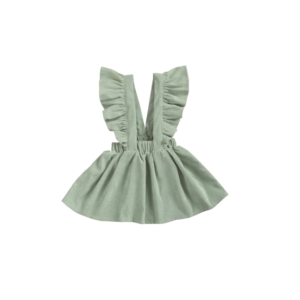 Victoria Frill Pinafore Dress