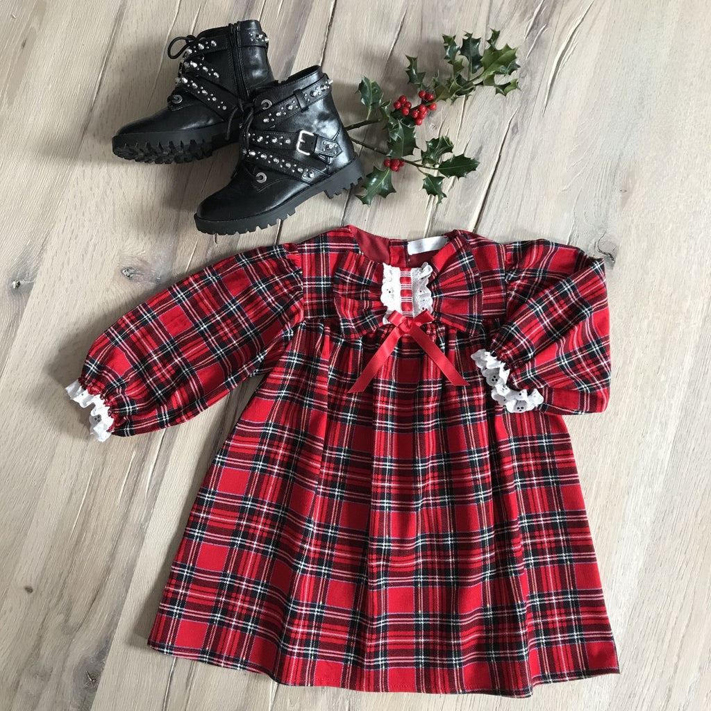 Holly Tartan Dress
