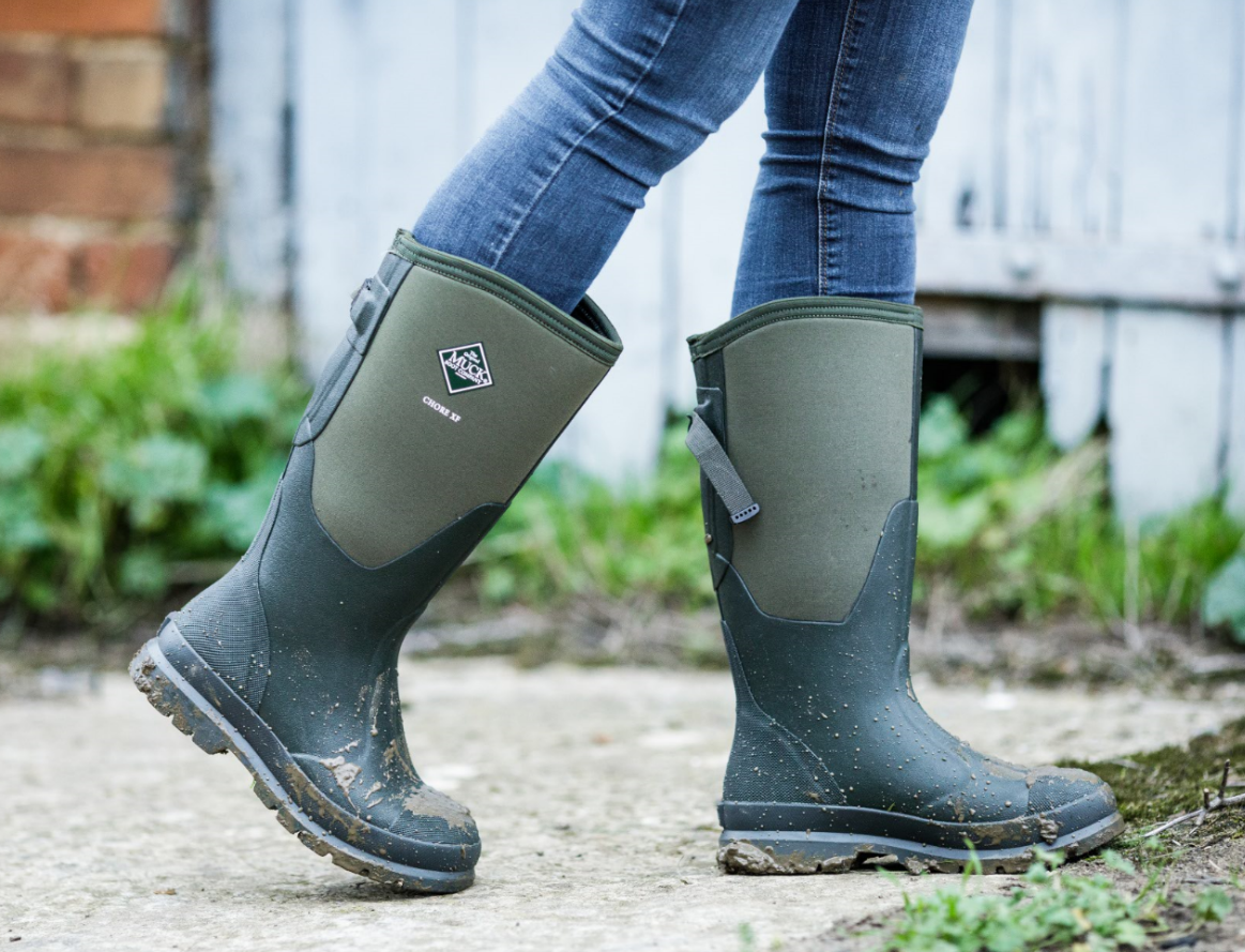 uk cheap sale good looking on feet images of Women's Chore Wide Calf | The Original Muck Boot Company™ USA