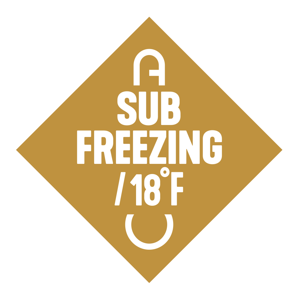 Temperature Rating Sub Freeze