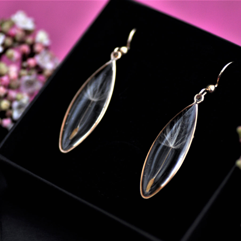 gold filled dangle earrings