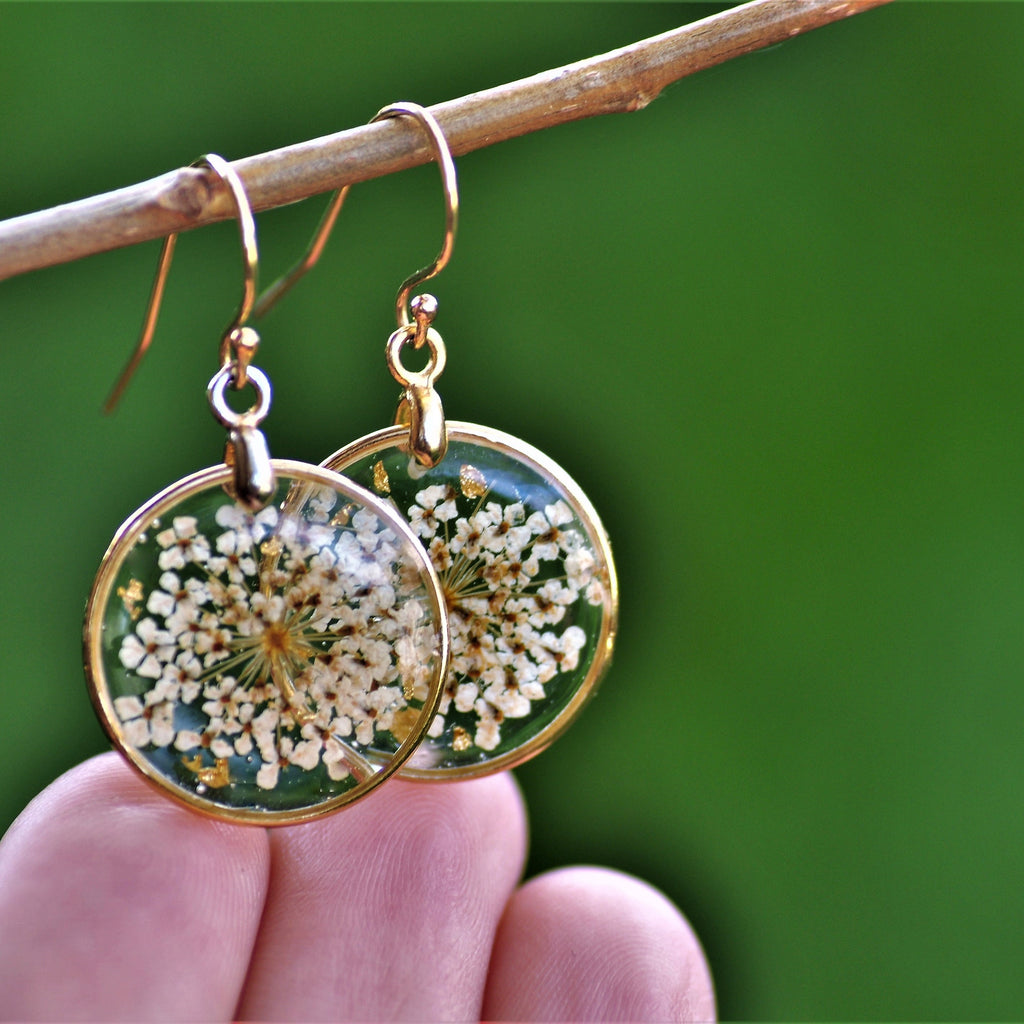 dangle earrings gold fill
