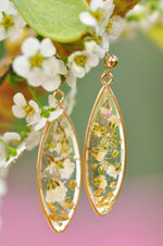 droplet dangle earrings