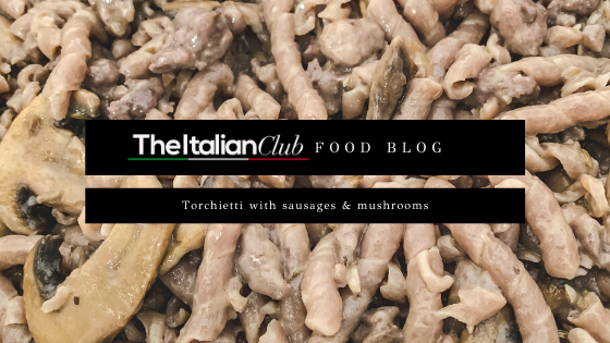 pasta-sausage-mushrooms-italian