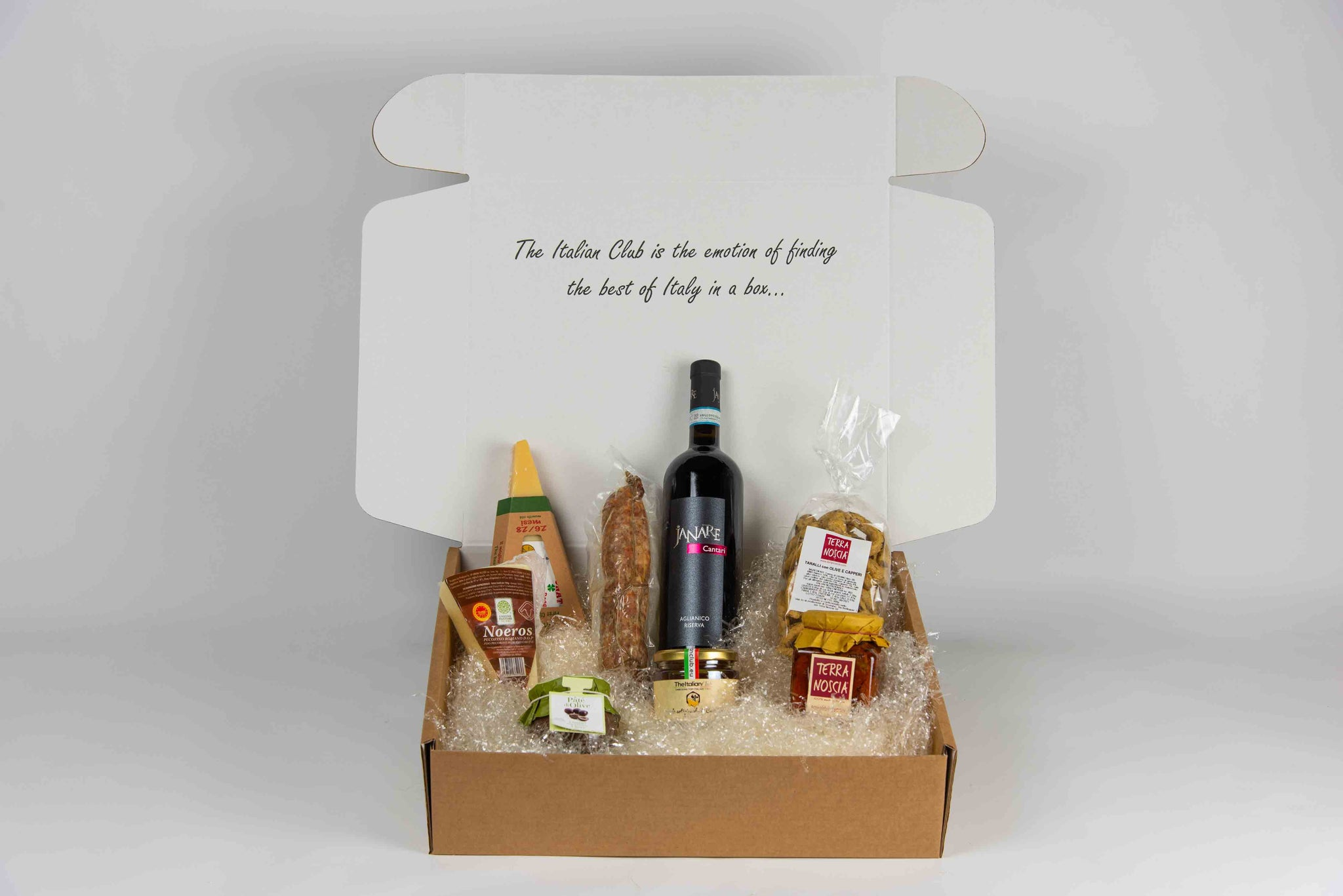Christmas box: Salame - TheItalianClub