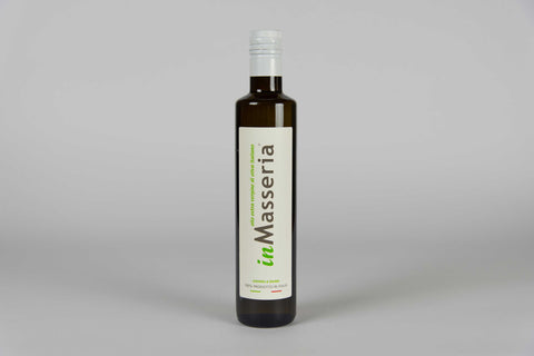 Extra virgin olive cold-pressed oil by inMasseria 6 bottles (0,5l) - TheItalianClub