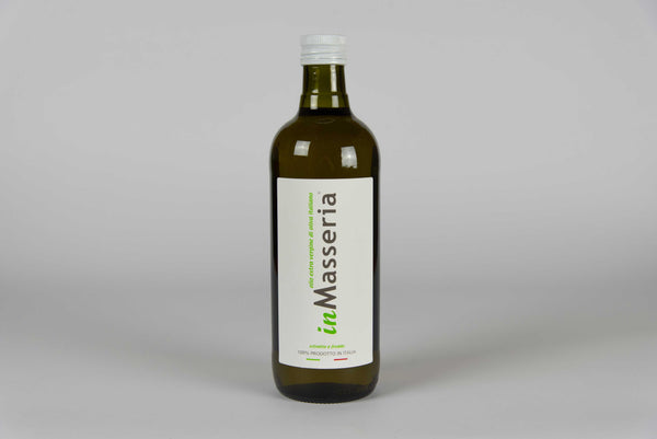 Extra virgin olive cold-pressed oil by inMasseria - Bottle of 1L - TheItalianClub