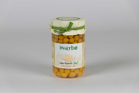 Organic chickpeas 300 gr – Inserbo - TheItalianClub