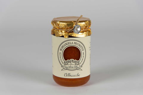 Extra Apricot Jam 345 gr - Mariangela Prunotto - The Italian Club