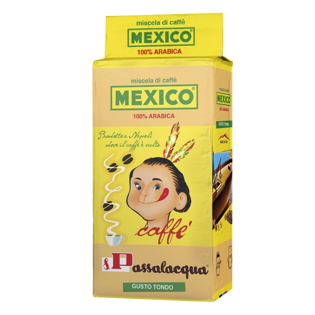 Mexico coffee package 100% Arabica 250 gr - Passalacqua - TheItalianClub