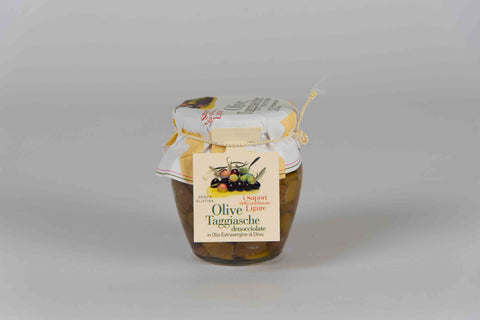 Pitted Taggiasche Olives 180 gr - Italpesto - TheItalianClub