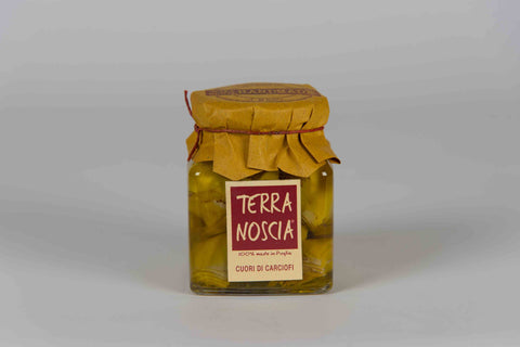 Artichoke Hearts 270 g - Terra Noscia - The Italian Club