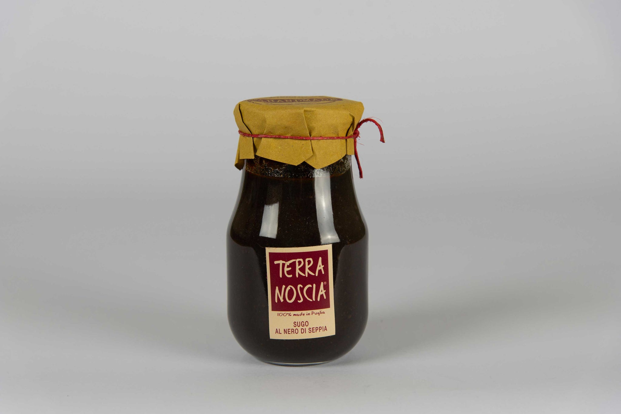 Cuttlefish Black Sauce 400 gr - Terra Noscia - The Italian Club