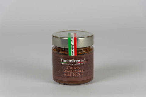 Walnuts spreadable Cream 220 gr - The Italian club - TheItalianClub