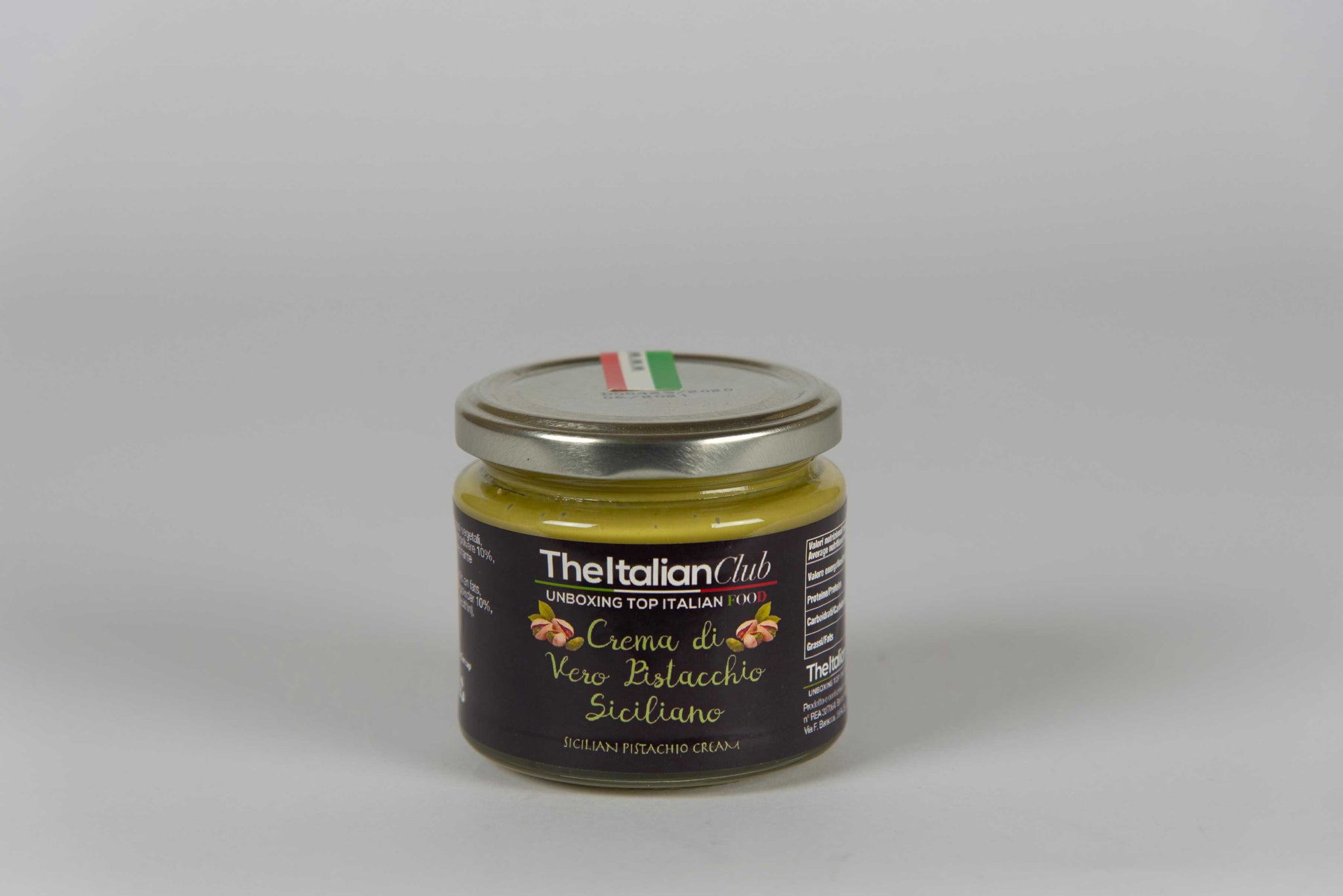 Cream of Sicilian Pistachio 190 gr - The Italian Club - The Italian Club