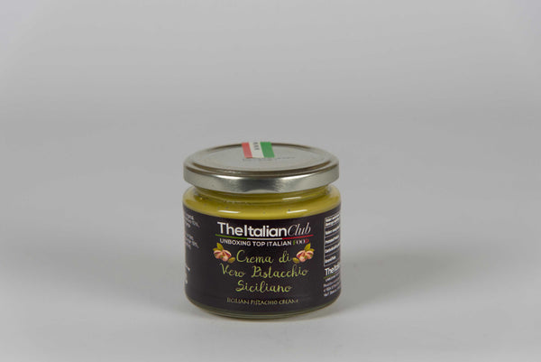 Cream of Sicilian Pistachio 190 gr - The Italian Club - TheItalianClub