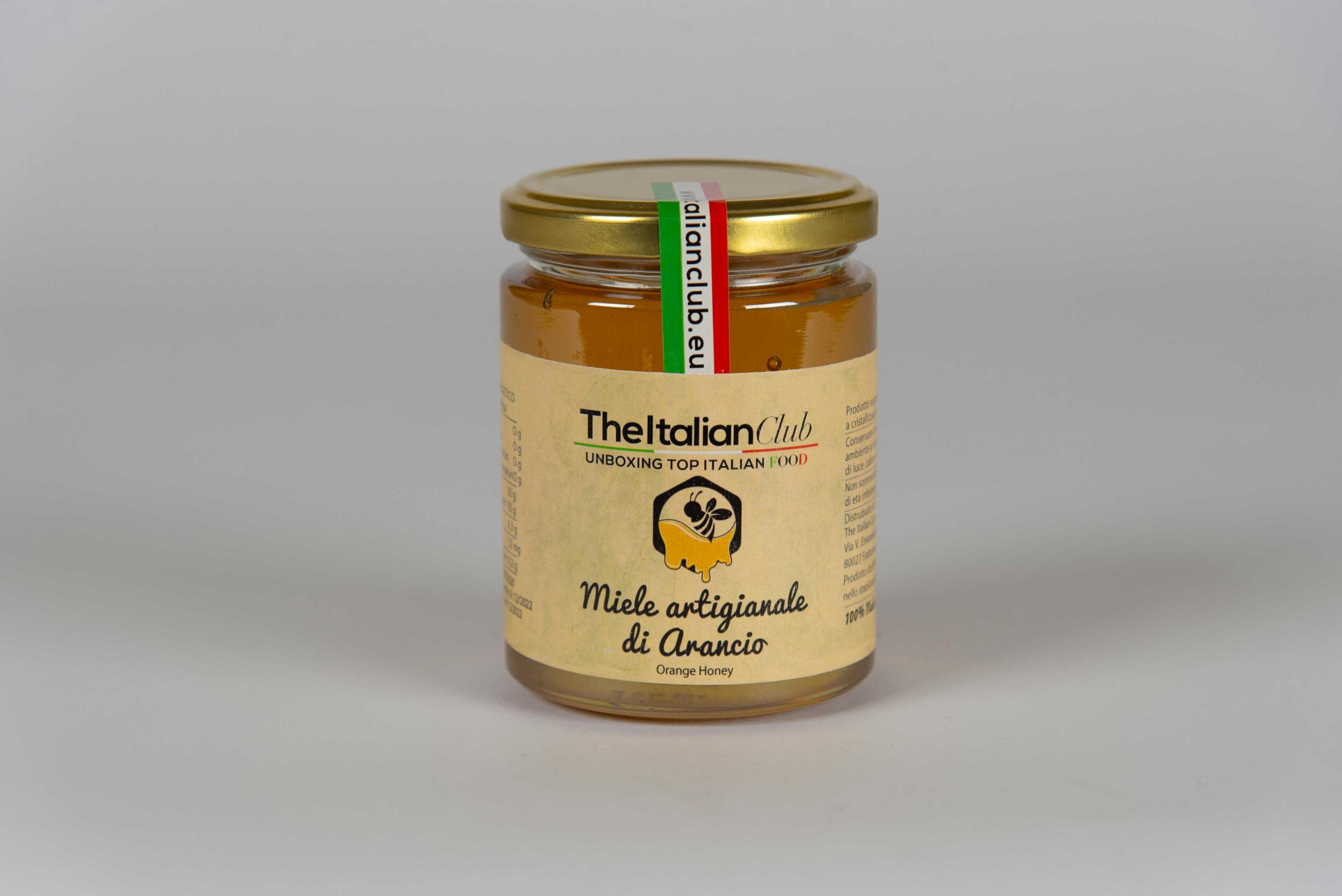 Artisan Orange honey - The Italian Club - The Italian Club
