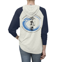 Unisex Tri-Blend Aikido Hoodie (light colors)