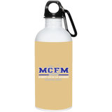 20 oz. MCFM Stainless Steel Water Bottle