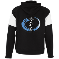 Youth Aikido Colorblock Hoodie (dark colors)