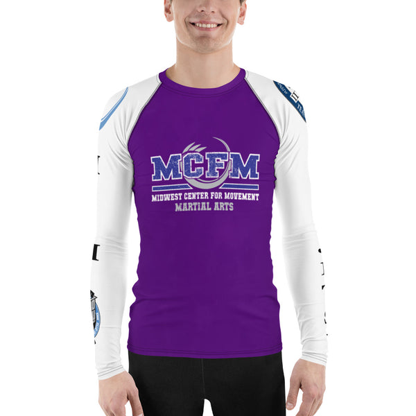Men's Purple MCFM Rash Guard