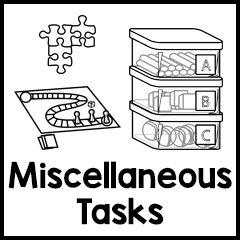 Miscellaneous Work Tasks