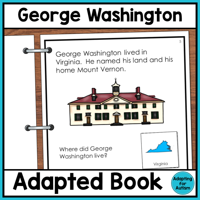 George Washington Adapted Book