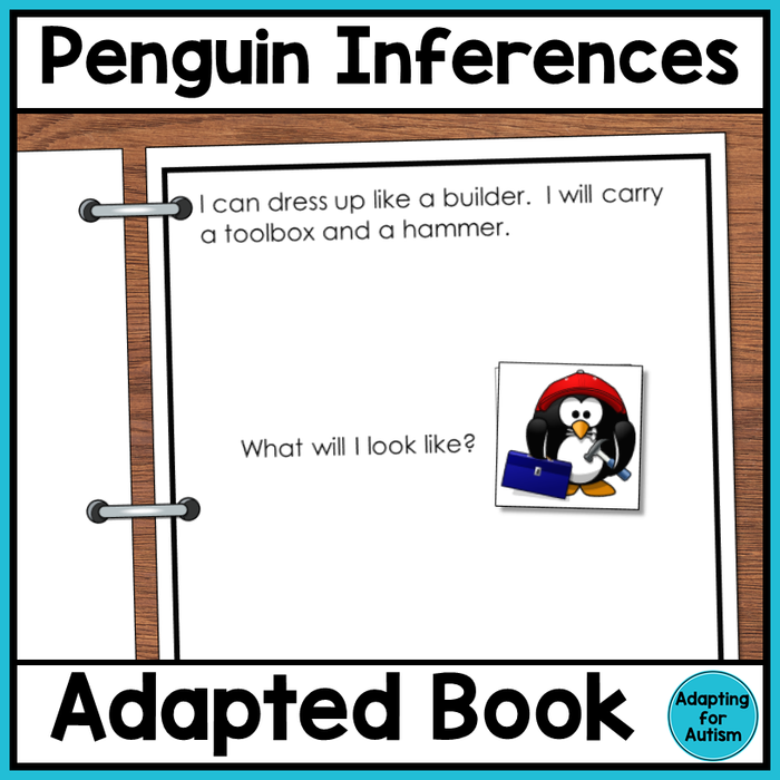 Making Inferences Adapted Book - Silly Penguins
