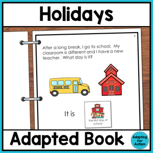 Holidays Adapted Book