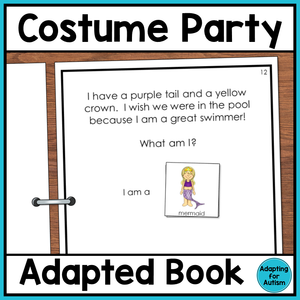 Halloween Adapted Book: Costume Party