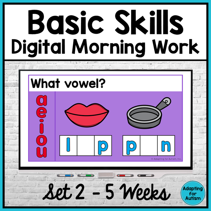 Basic Skills Digital Morning Work - Set 2