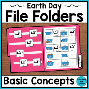 Earth Day File Folder Activities – Basic Concepts