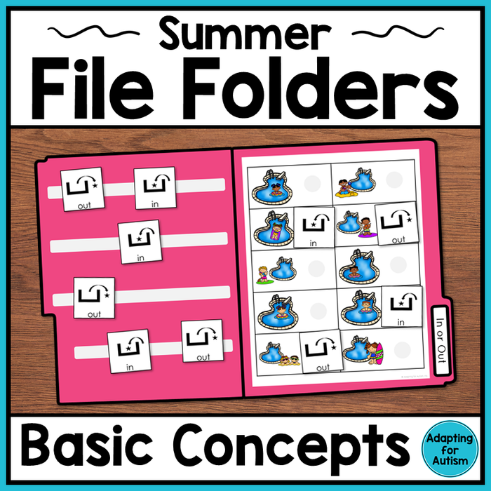 Summer File Folder Activities – Basic Concepts