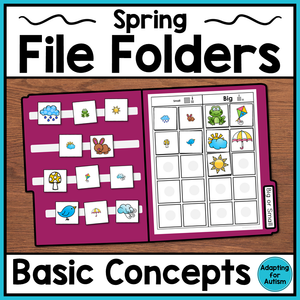 Spring File Folder Activities - Basic Concepts