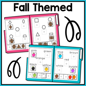 Fall Basic Skills File Folder Activities