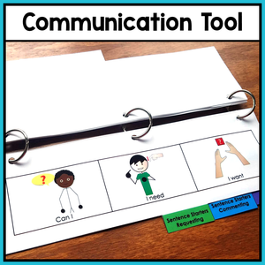Behavior Management: Visual Aid Flip Book