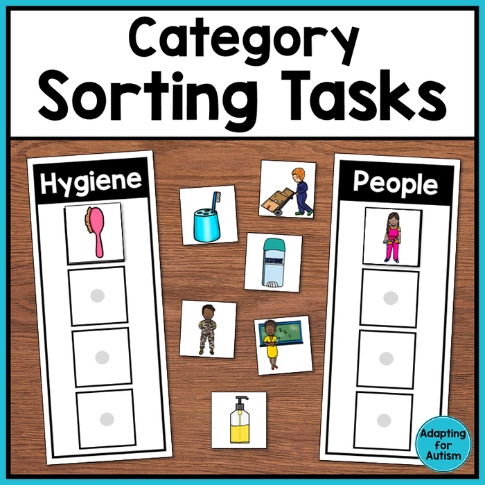Category Sorting Tasks