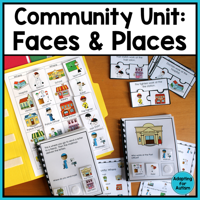 Community Helpers and Places Unit