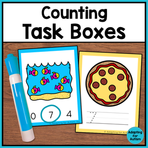 Counting Task Boxes