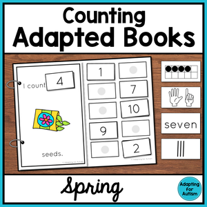 Spring Counting Adapted Books
