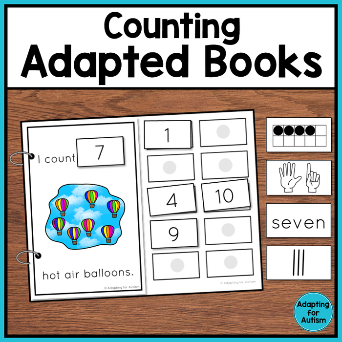 Counting Adapted Books